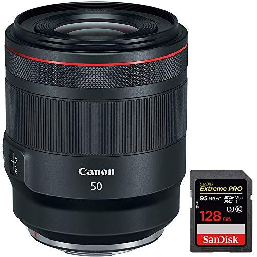 Canon RF 50mm F1.2 L USM Full Frame Lens for EOS R RF Mirror