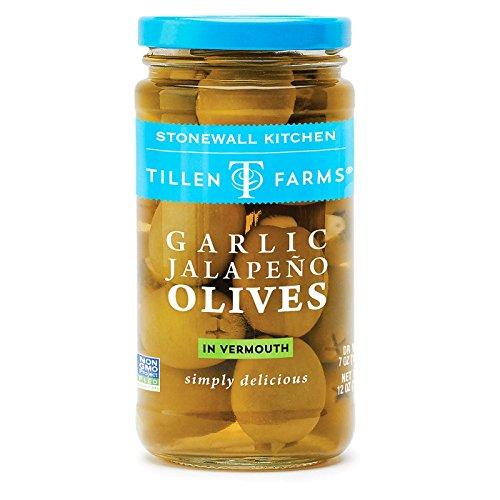 Tillen Farms Garlic Jalapeno Olives - 6 Pack