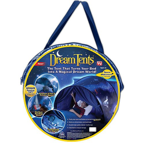 Cheapest Price! DreamTents Fun Pop Up Tent - Space Adventure