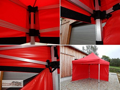 Motorrad-Racing Grün Tienda/Event - Gazebo/Plegable Carpa de Color Rojo de 3 x 3 Metros con andamio de Aluminio: Amazon.es: Deportes y aire libre