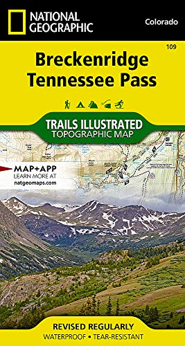 Breckenridge, Tennessee Pass (National Geographic Trails Illustrated Map (109))