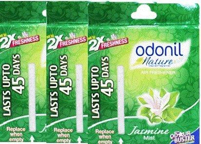 (Odonil Air Freshener - 75 g (Jasmine Mist, Pack of)