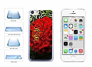 Beautiful they Bouquet Of Red the Flowers Clear Plastic Phone Case Back Cover Apple iPhone 5c win of Kimberly Kurzendoerfer