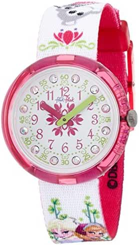 Swatch Kids' ZFLNP019 Analog Display Quartz Multi-Color Watch