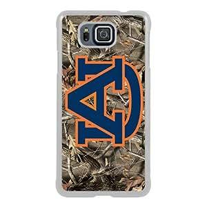 Newest Samsung Galaxy Alpha Case ,Southeastern Conference SEC Football Auburn Tigers 5 White Samsung Galaxy Alpha Screen Phone Case Popular Fashion And Durable Designed