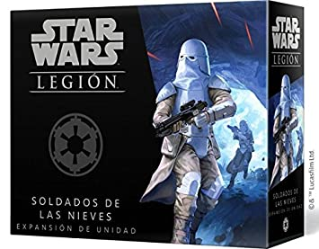 Fantasy Flight Games Star Wars Legion: Soldados de Las Nieves ...