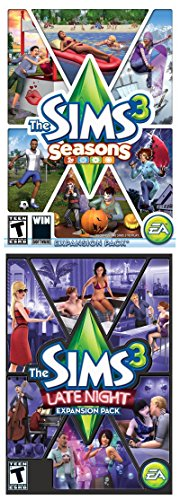 Sims 3 Bundle: Seasons and Late Night [Online Game Code] (Night Sims Late 3)