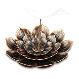 TMINCK Brass Incense Holder - Lotus Stick Incense