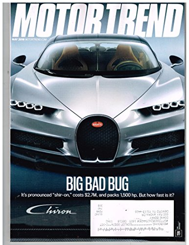 "MOTOR TREND Magazine (May 2016) Big Bad Bug ""shir-on"""