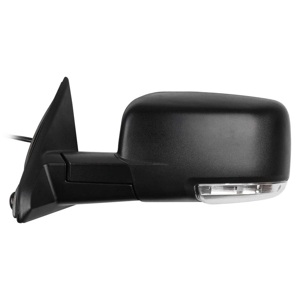 Aintier Towing Mirrors Compatible with 2009-2010 Dodge Ram 1500 2011-2013 Ram 1500 2011-2015 Ram 2500 2011-2013 Ram 3500 with Power Heated Manual Folding Turn Signal Light