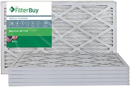 FilterBuy 12x24x1 Pleated Furnace Filters