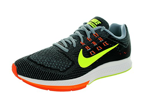Nike Men's Air Zoom Structure 18 Magnet Grey/Vlt/Blk/Hypr...