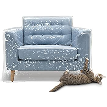 Amazon Com Plastic Recliner Armchair Cover For Pets Cat