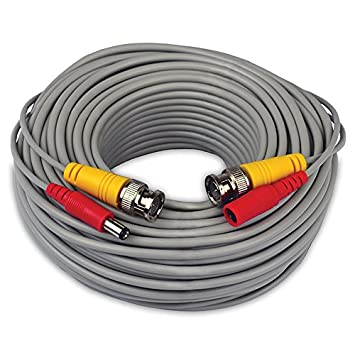 NIGHT OWL BNC, 100FT, 24AWG 30.48m Gris - Cable coaxial (100FT,