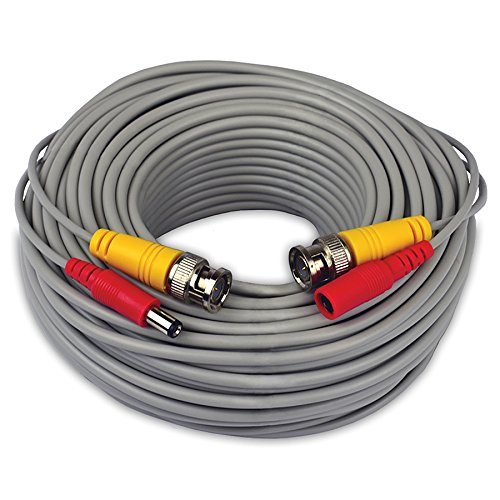 Night Owl 100' 24 AWG BNC Video/Power Camera Extension Cable Gray CAB-24AWGG-100VP