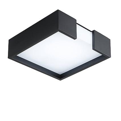 Amazon.com: Lámpara de techo cuadrada con diseño creativo y ...