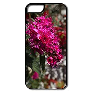 IPhone 5S Cases, Closeup Flowers White/black Cases For IPhone 5S