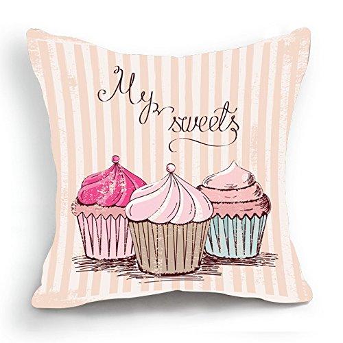 Diseño Retro en una notificación tres diseño de Cupcake ...