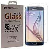 DMG Curved Tempered Glass Screen Protector for Samsung Galaxy S6 (Pack of 2 Arc 2.5D 9H 0.3mm Tempered Glass)