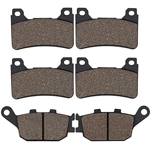 (Cyleto Front & Rear Brake Pads for Honda CBR600RR CBR 600RR CBR600 RR 2005 2006)
