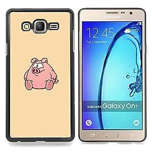 Stuss Case / Funda Carcasa protectora - Ronda Fat lindo de la historieta - Samsung Galaxy On7 O7
