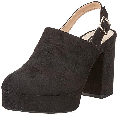 MTNG Women's Naomi Platform Heels Black (Antil Black ) nj4TKM2g