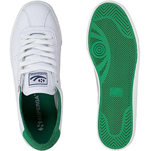 Superg Trainer White Sneaker Superga Comfleau Sialnd Green awq4Cw