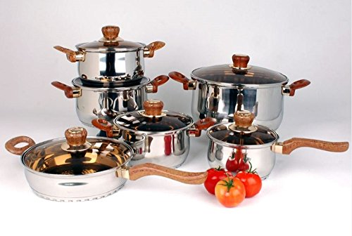 Uniware Stainless Steel Cookware Set