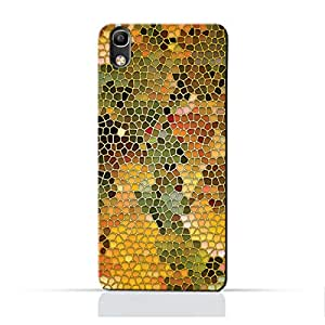 AMC Design ALCATEL Idol4 5.2TPU Silicone Protective Case with Stained Art Glass Pattern