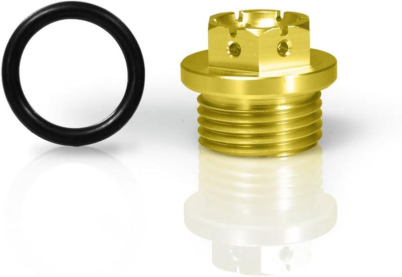 Racefoxx Öldeckel Öleinfülldeckel Ölkappe Deckel Öl Kappe Aluminium Gefräst Gold Für Bmw S1000r Rr Xr Auto