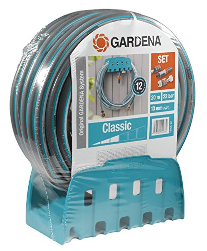 Gardena Wall - Gardena Wall Hose Bracket Classic with Hose