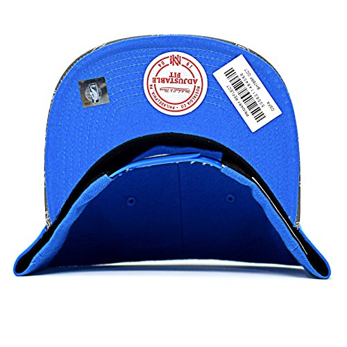 amp; para de Azul única Mitchell azul Talla Gorra béisbol Ness hombre UTdqBg