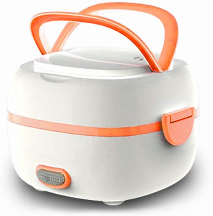 Mini Rice Cooker, Electric Lunch Box Food Heater, Portable Rice Steamer Cooker Small Travel Rice Cooker