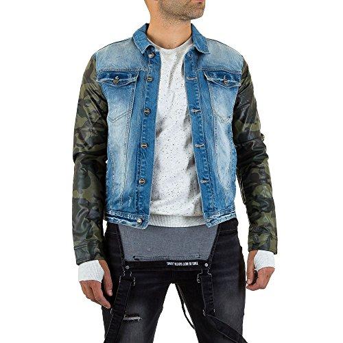 Sixth June Jeans Jacke Für Herren , Blau In Gr. M bei Ital-Design