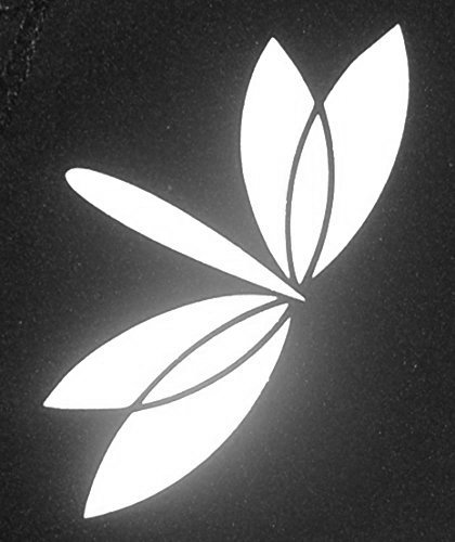 Firefly Craft Heat Transfer Vinyl For Silhouette And Cricut, 12 Inch by 20 Inch, Reflective White