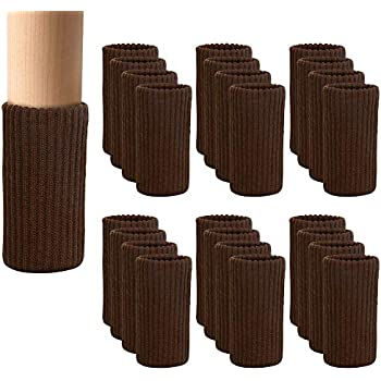 Amazon Com 24 Pcs Chair Leg Socks Knitted Furniture Socks