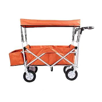 Utilitario Pull Wagon Plegable Carro de carros Plegables con ...
