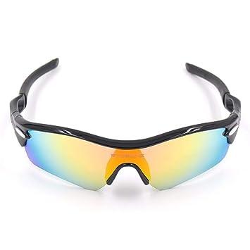 FRFG Gafas de Radar Gafas de Montar Gafas de Sol polarizadas, Todas Negras