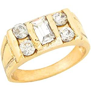 Amazon.com: Jewelry Liquidation 10k Real Yellow Gold White