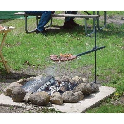 campfire grill swivel - 6