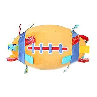 Homiki Sungpunet Giocattolo educativo per i Bambini Peluche Palla 23 Centimetri Arancione Pallone da Calcio 1 PC