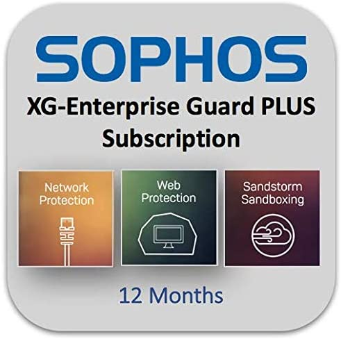 12 Month NS8B1CSEA // NS8B2CSEA // NS8B3CSEA Sophos Sophos XG 86 /& XG 86w EnterpriseGuard Plus with Enhanced Support
