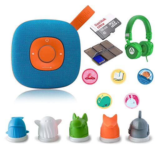 Speaker - Simply The Best Music Player for Kids Screen-Free with Extra White Jooki Tokens + Audiomate Kit ()