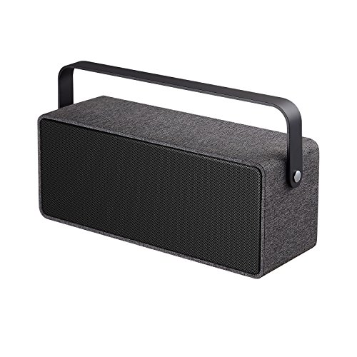 KeeNetic BS503B Sound Boom Stereo Portable Wireless Bluetooth Speaker, Home Speaker, Fabric Covering, Loud Volume 10W with...