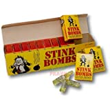 Rhode Island Novelty 36 Stink Bombs-3 Glass Vials Per Box Stinky and Smelly Novelty