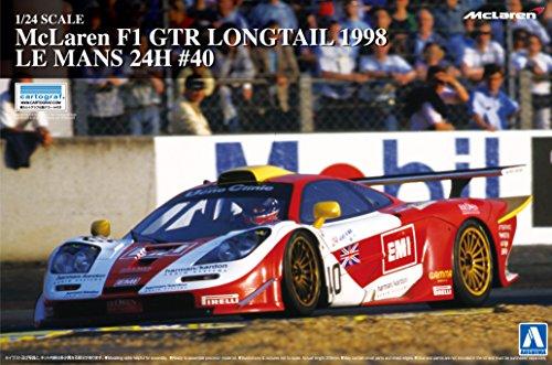 1/24 Super Car Series No.20 McLaren F1 GTR Long Tail 1998 Le Mans 24 hours # 40