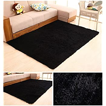 HUAHOO Super Soft Indoor Modern Shag Area Silky Rugs Dining Room Living Room  Bedroom Rug Baby Nursery Rug Childrens Kids Room Rug Carpet Floor Mat For  Home ...