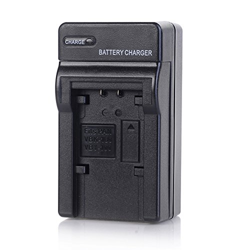 Sdr T70 Camcorder Battery - VW-VBK180 Charger for Panasonic SDR-H100 H101 HC-V500 V700 V710 V720 V750 V770 VX870 VX981 W580 W850 WXF991 HDC-HS80 HDC-T55 HDC-T50 SD90 TM80 TM90 Camera as VW-VBL090