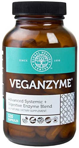VeganZyme, Vegan Systemic & Digestive Enzyme Blend, 120-Count