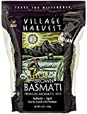 Village Harvest Organic Brown Indian Basmati Rice, 16 Ounce